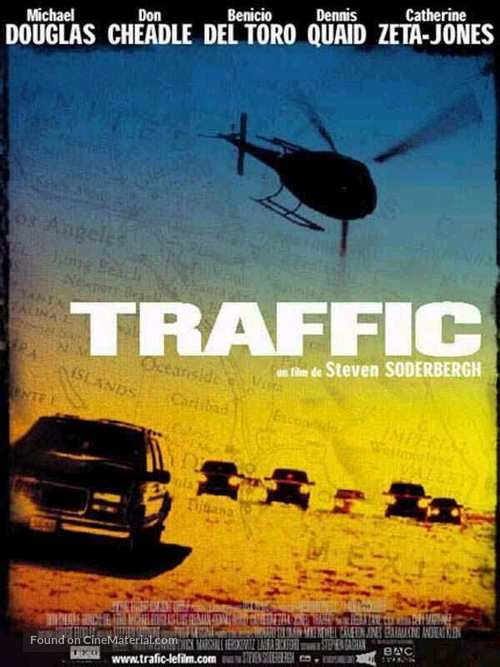 Traffic - French Movie Poster