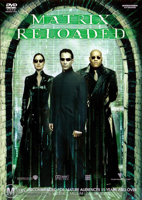 The Matrix Reloaded - Australian Movie Cover