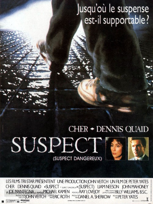 Suspect - French Movie Poster