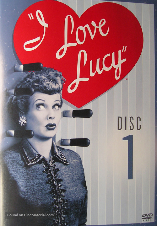 """""""I Love Lucy"""" - DVD movie cover"""