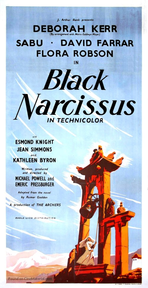Black Narcissus - British Movie Poster