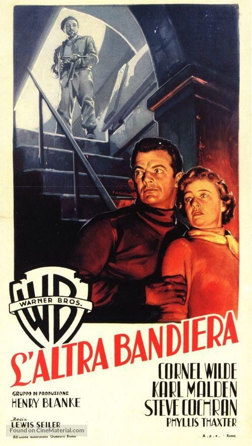Operation Secret - Italian Movie Poster
