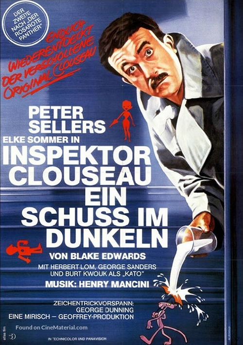A Shot in the Dark - German Movie Poster