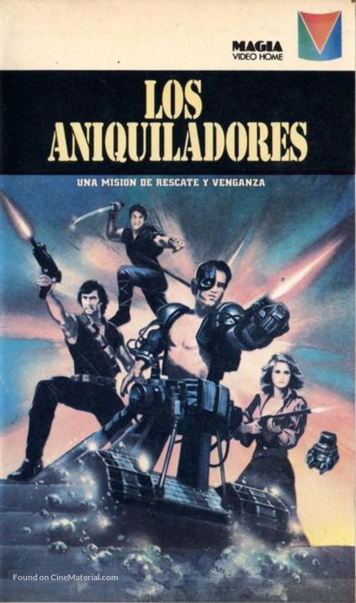 Eliminators - Argentinian Movie Cover