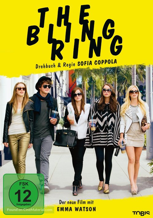 The Bling Ring - German DVD cover