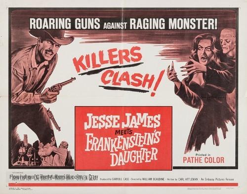 Jesse James Meets Frankenstein's Daughter - Movie Poster