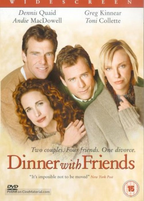 Dinner with Friends - British DVD movie cover