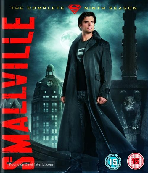 """""""Smallville"""" - British Blu-Ray movie cover"""
