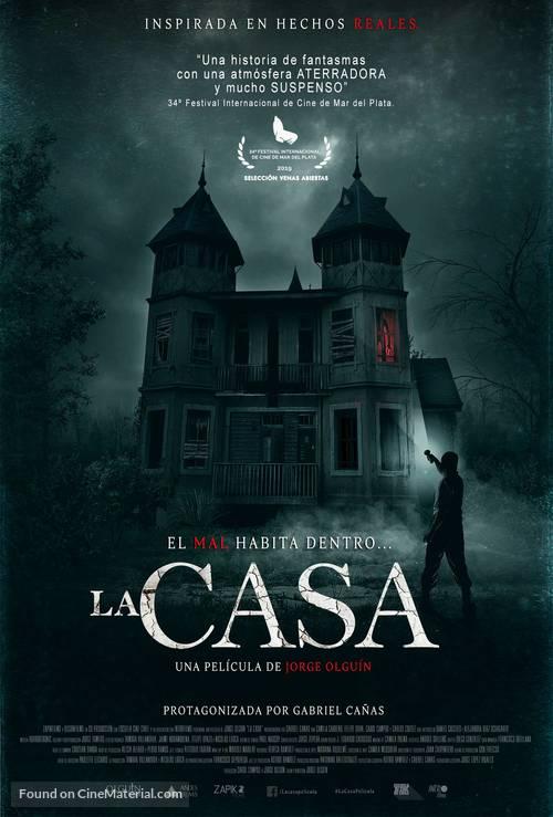La Casa 2020 Chilean Movie Poster