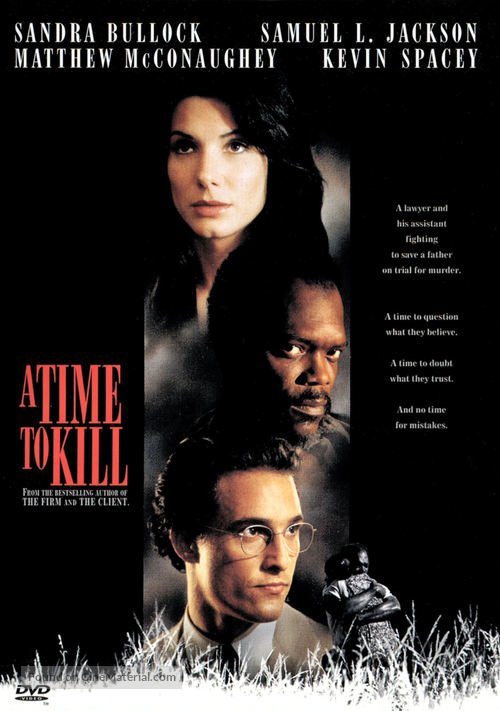 A Time to Kill - DVD movie cover