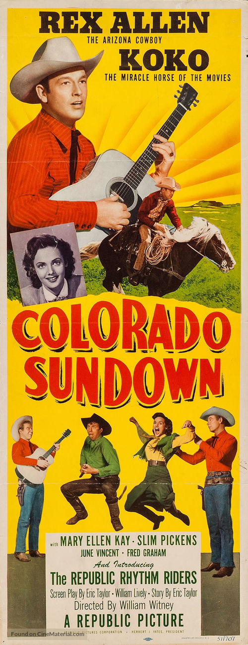 Colorado Sundown - Movie Poster