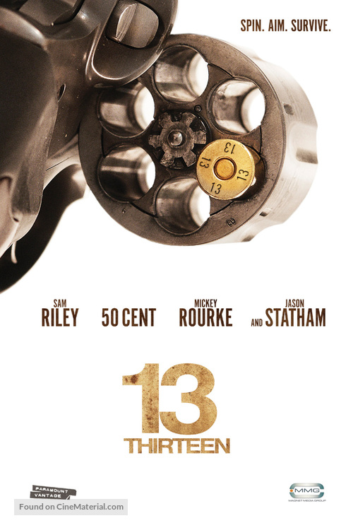 13 - Theatrical movie poster