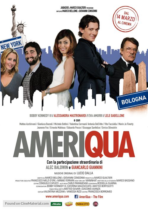 AmeriQua - Italian Movie Poster