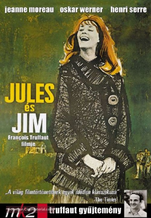 Jules Et Jim - Hungarian Movie Cover