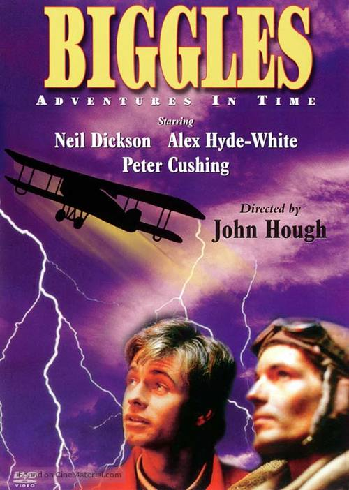 Biggles - DVD movie cover