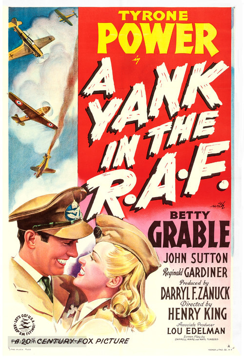 A Yank in the R.A.F. - Movie Poster