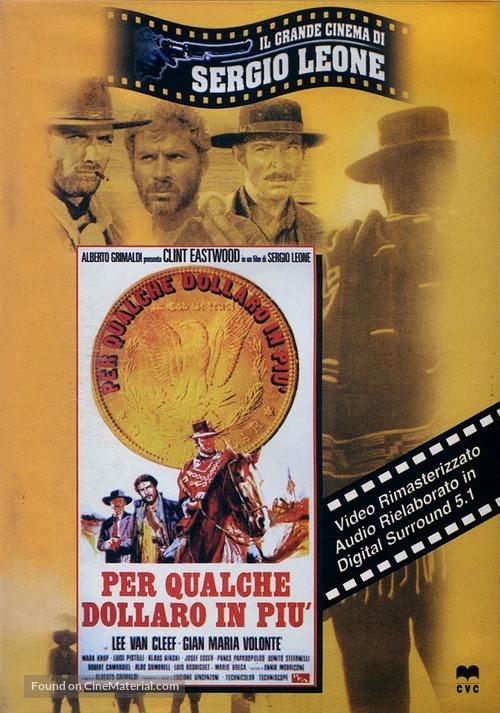 Per qualche dollaro in più - Italian DVD movie cover