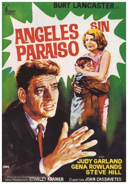 A Child Is Waiting - Spanish Movie Poster