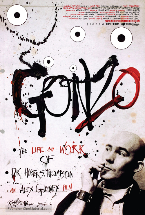 Gonzo: The Life and Work of Dr. Hunter S. Thompson - Movie Poster