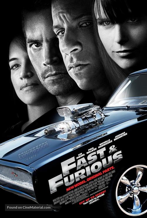 Fast & Furious - Movie Poster