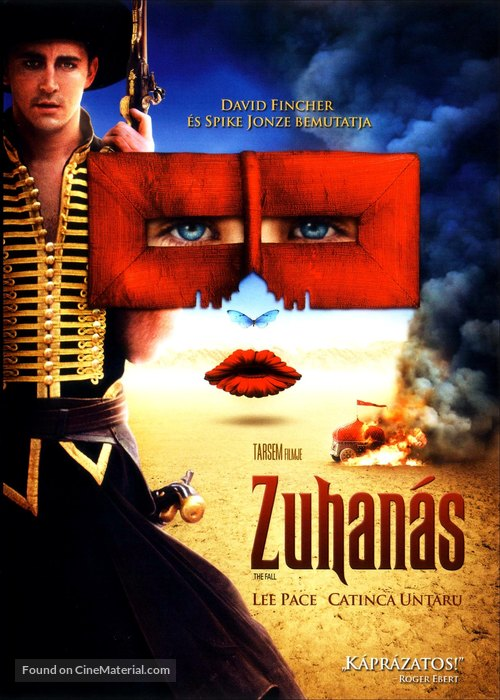 The Fall - Hungarian Movie Cover