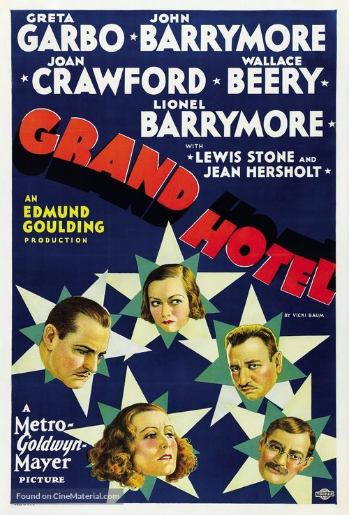 Grand Hotel - Movie Poster