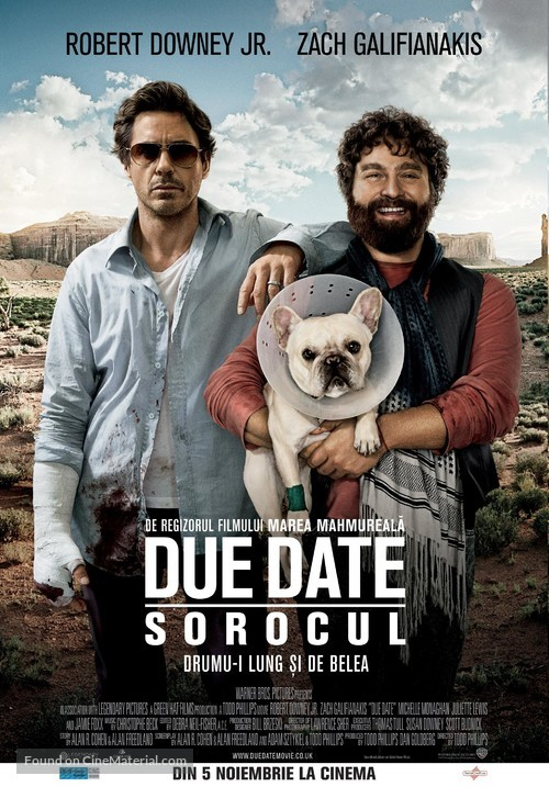 Due Date - Romanian Movie Poster