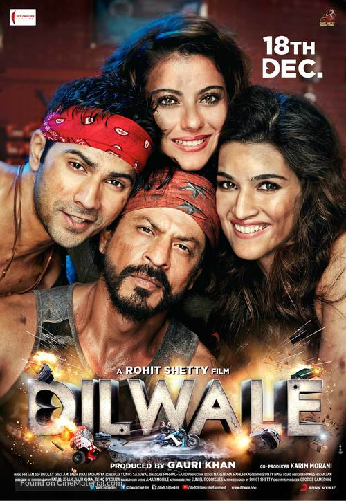 Dilwale - Indian Movie Poster