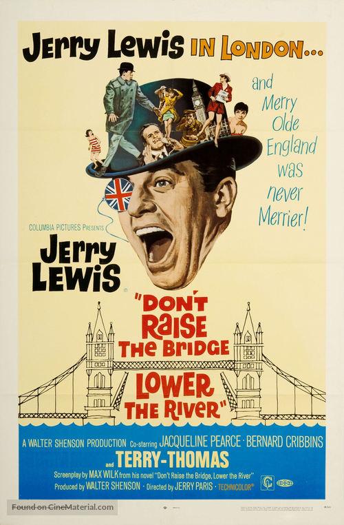 Don't Raise the Bridge, Lower the River - Movie Poster
