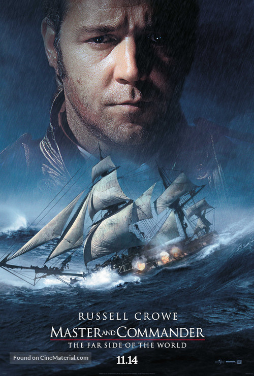 Master and Commander: The Far Side of the World - Teaser poster