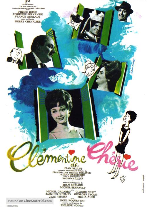 Clémentine chérie - French Movie Poster