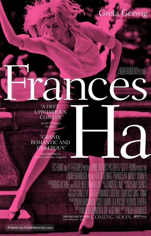 Frances Ha - Movie Poster