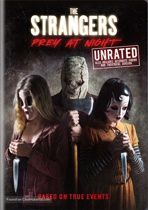 the strangers prey at night dvd cover
