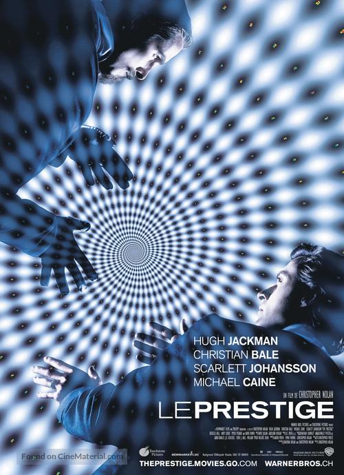 The Prestige - Swiss Movie Poster
