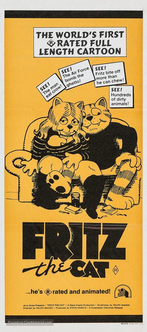 Fritz The Cat Movie Poster Australia
