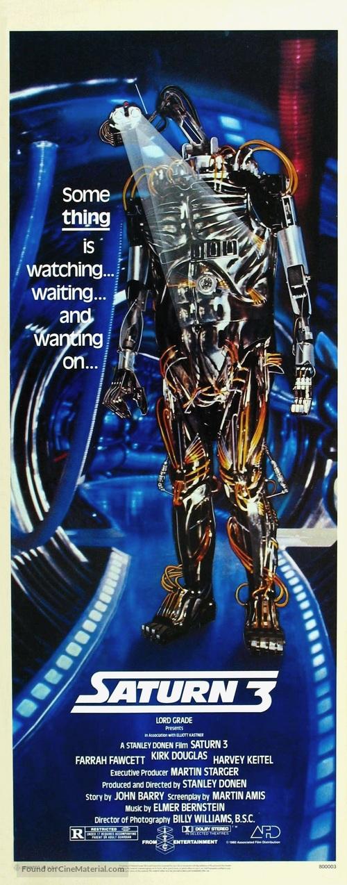 Saturn 3 - Movie Poster