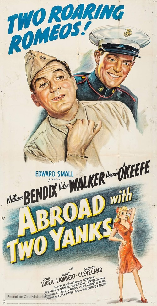 Abroad with Two Yanks - Movie Poster