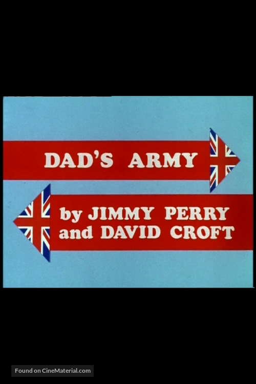 """""""Dad's Army"""" - British poster"""