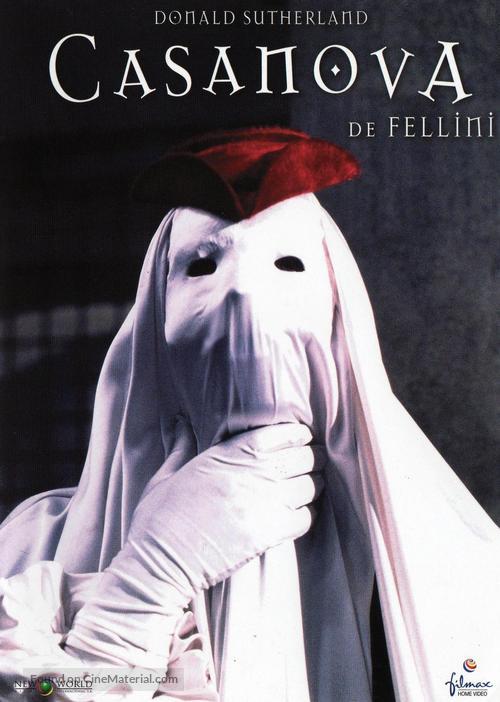 Il Casanova di Federico Fellini - Spanish Movie Cover