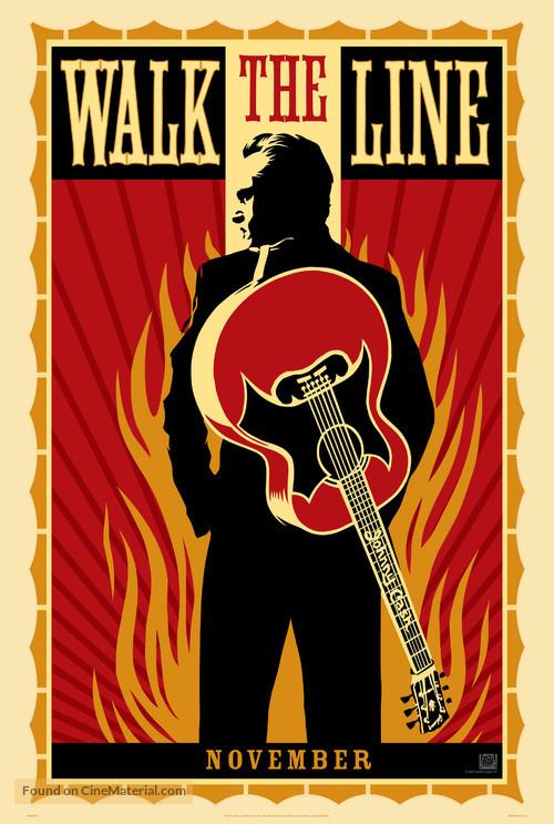 Walk The Line - Teaser poster