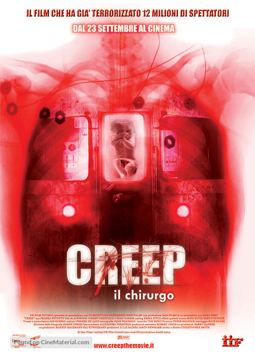 Creep - Italian Movie Poster
