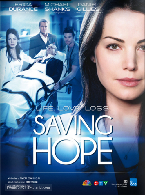 """Saving Hope"" - Canadian Movie Poster"
