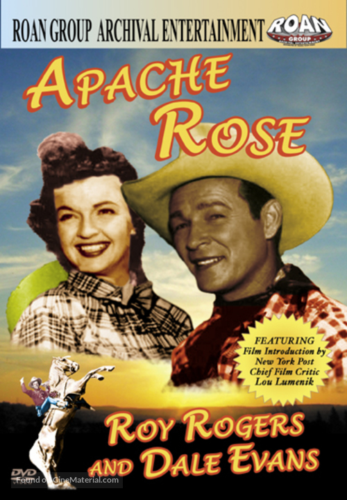 Apache Rose - DVD movie cover