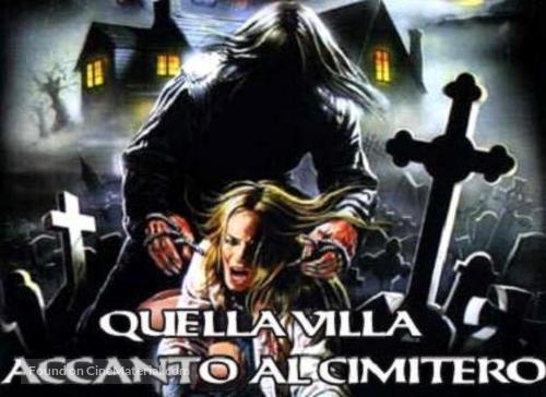 Quella villa accanto al cimitero - Italian Movie Poster