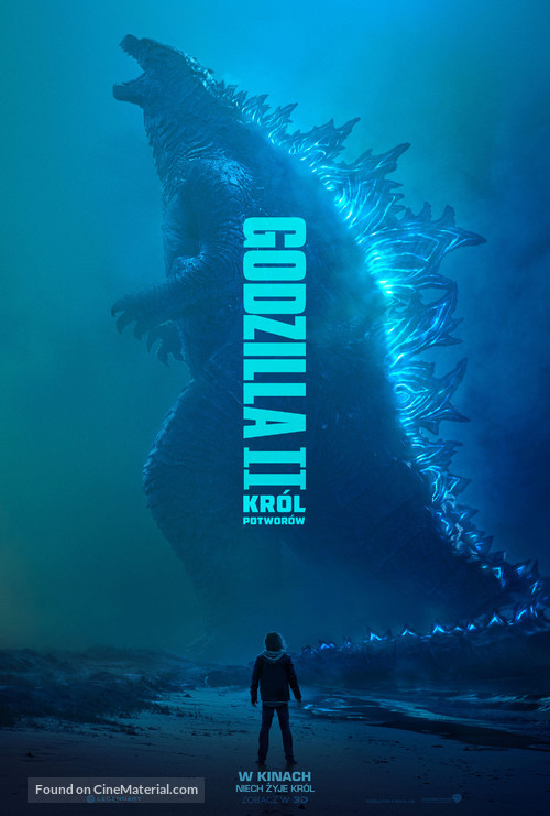 Godzilla: King of the Monsters - Polish Movie Poster