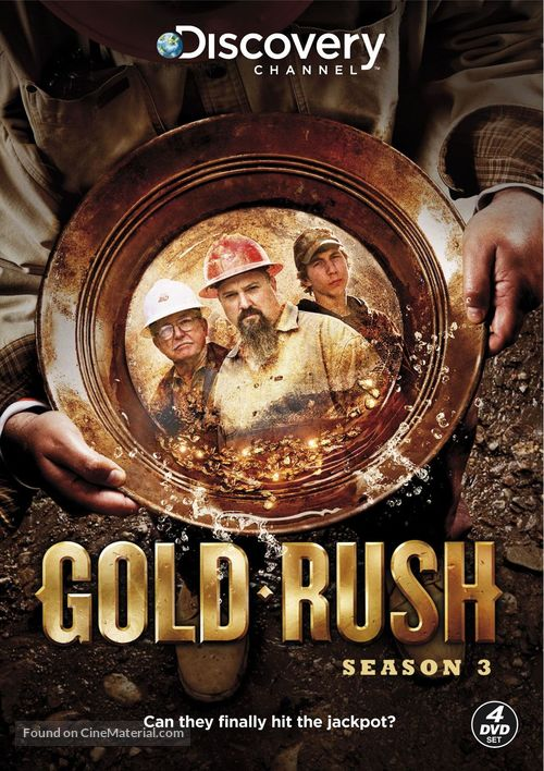 """Gold Rush: Alaska"" - DVD movie cover"