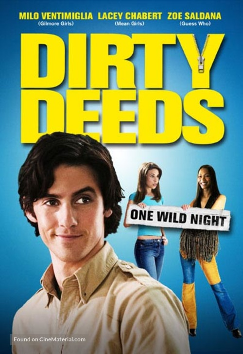 Dirty Deeds - DVD movie cover