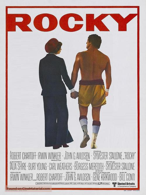 Rocky - Belgian Movie Poster