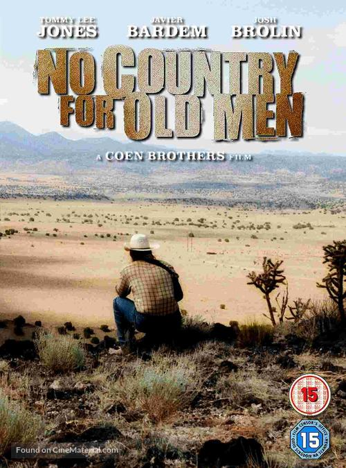No Country for Old Men - British DVD cover