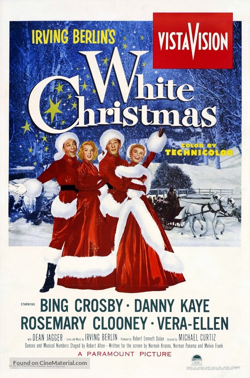 White Christmas - Movie Poster